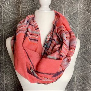 Coral Pink Scarf
